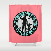 fairy tale Shower Curtains featuring Fairy Tale by HouseOfWonderland