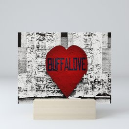 Buffalo Urban movement Mini Art Print
