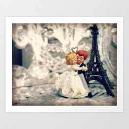 Dancing at the Wedding Art Print