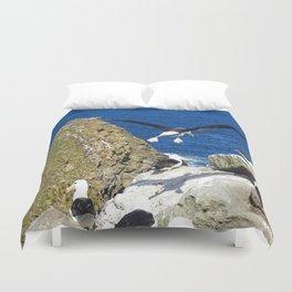 Flying Albatross Duvet Cover