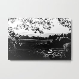 idyllic nature landscape vabw Metal Print