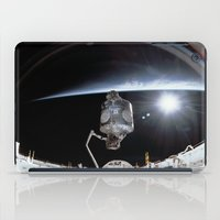 nasa iPad Cases featuring NASA International Space Station by Planet Prints