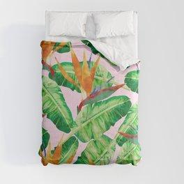 Tropical plant XVI Comforters
