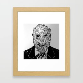 Mr. Melty Framed Art Print