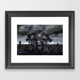 old times Framed Art Print