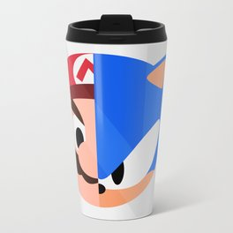Mario & Sonic Metal Travel Mug