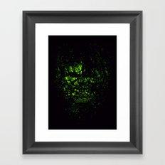 THE INCREDIBLE HULK Framed Art Print