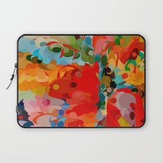 color bubble storm Laptop Sleeve