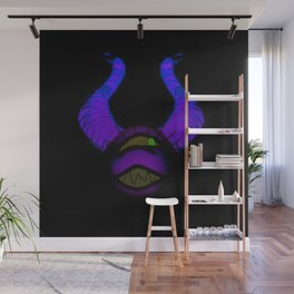 Dark Bokrae Wall Mural