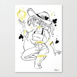 Inktober : Found Canvas Print