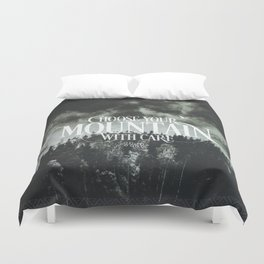 Choose wisely Duvet Cover