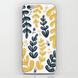 Yellow Leaves iPhone Skin