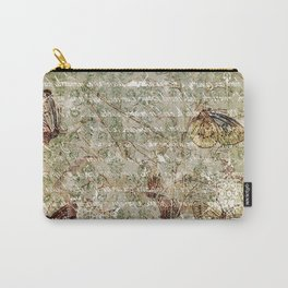 Vintage Butterflies 05 Carry-All Pouch