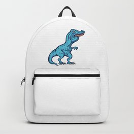 Funny dino meme T-Rex T-shirt party gift Backpack