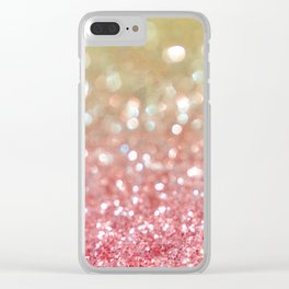 Champagne Tango Clear iPhone Case