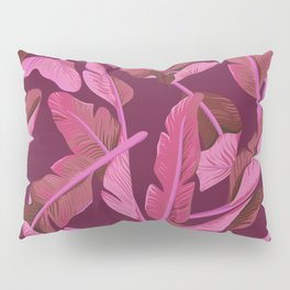 Tropical '17 - Ajaja [Banana Leaves] Pillow Sham