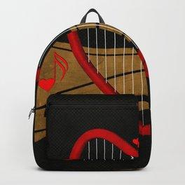 Heart harp Backpack