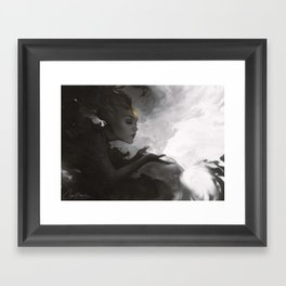Phosphorescent  Framed Art Print