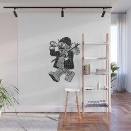 Robo Hobo Wall Mural