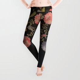 Also Flowers Growing In All The Wrong Places Leggings