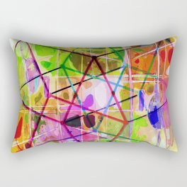 Two Tesseracts Rectangular Pillow