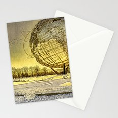 Unisphere Sunset Stationery Cards
