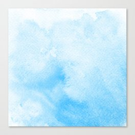 Blue is the Warmest Color Canvas Print