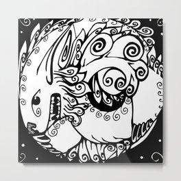 Fu Dog Metal Print