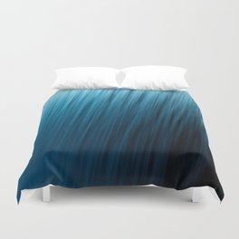 Blue Texture Duvet Cover