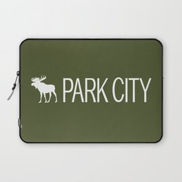 Utah: Park City Moose Laptop Sleeve