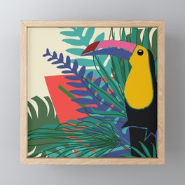 Toucan Framed Mini Art Print