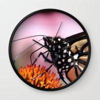 furry Wall Clocks featuring Furry Fellow by IowaShots