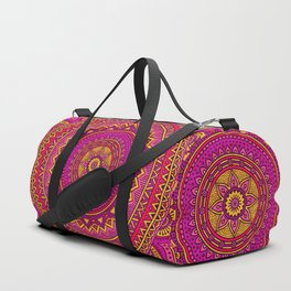 Hippie mandala 25 Duffle Bag