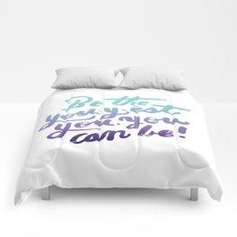 You - Inspiration Print Comforters
