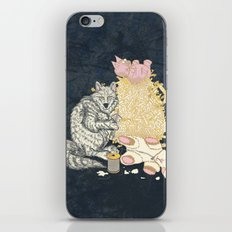 Big Bad Wolf Only Needed a Needle iPhone & iPod Skin