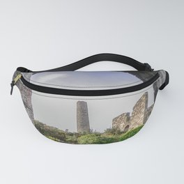 MINE RUINS AT WHEAL BASSET STAMPS CORNWALL Fanny Pack