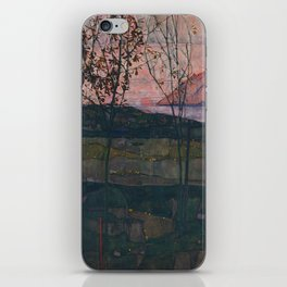 Egon Schiele - Setting Sun iPhone Skin