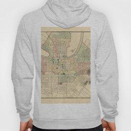Map of Nashville 1877 Hoody