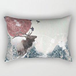 The Nature of Analysis Rectangular Pillow