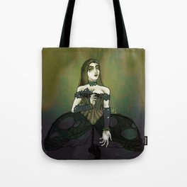 The Goth Queen Awaits Tote Bag