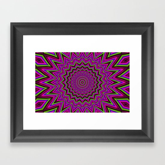 Mandala 2 Framed Art Print