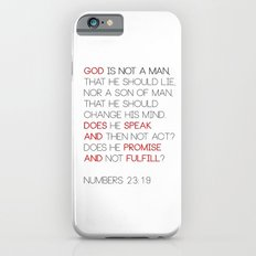 Not a Man iPhone 6s Slim Case