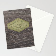 Grow Write Guild Seal Stationery Cards