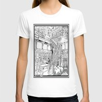 puppies T-shirts featuring Borzoi puppies by Agy Wilson
