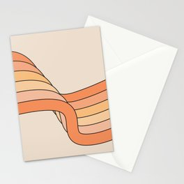 Tangerine Ribbon Stationery Cards