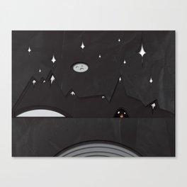 Paper Landscape Canvas Print