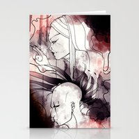 cyberpunk Stationery Cards featuring Cyberpunk by TheTaserMonkey