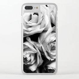 Roses Squad Goals Clear iPhone Case