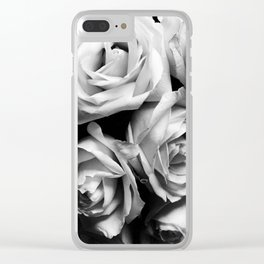 Roses Squad Goals Clear iPhone Case
