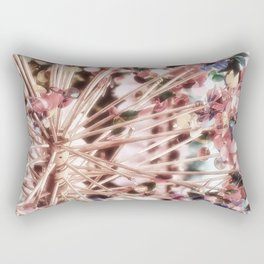 Pink Rehiletes Rectangular Pillow